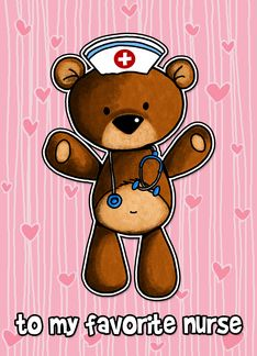 Favorite Nurse Birthday Bear