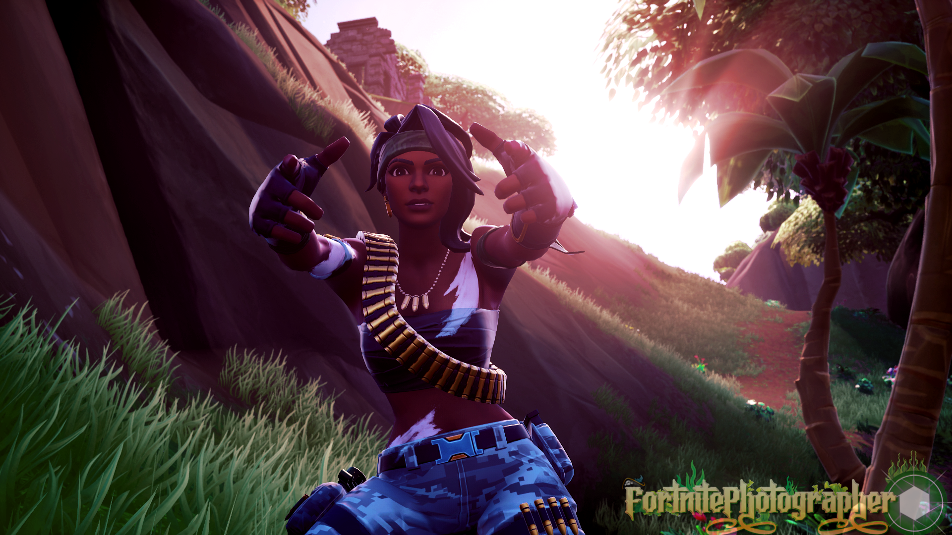 The Hunt Is On We Are Now 100 Twitter Fortnite Photographer Just Hit 100 Followers Thank You All So Much Bandolette Set 02 2 4 Fnphootographer On