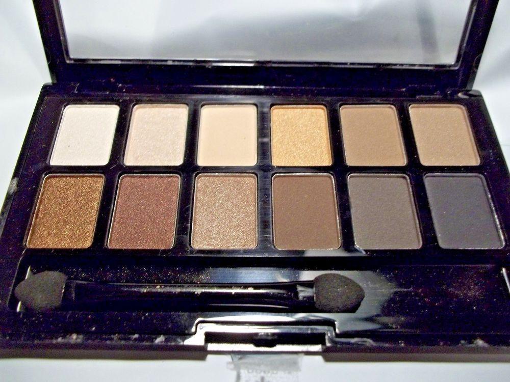 Eyeshadow Palette of 12 Pro Makeup Waterproof Eye Shadow