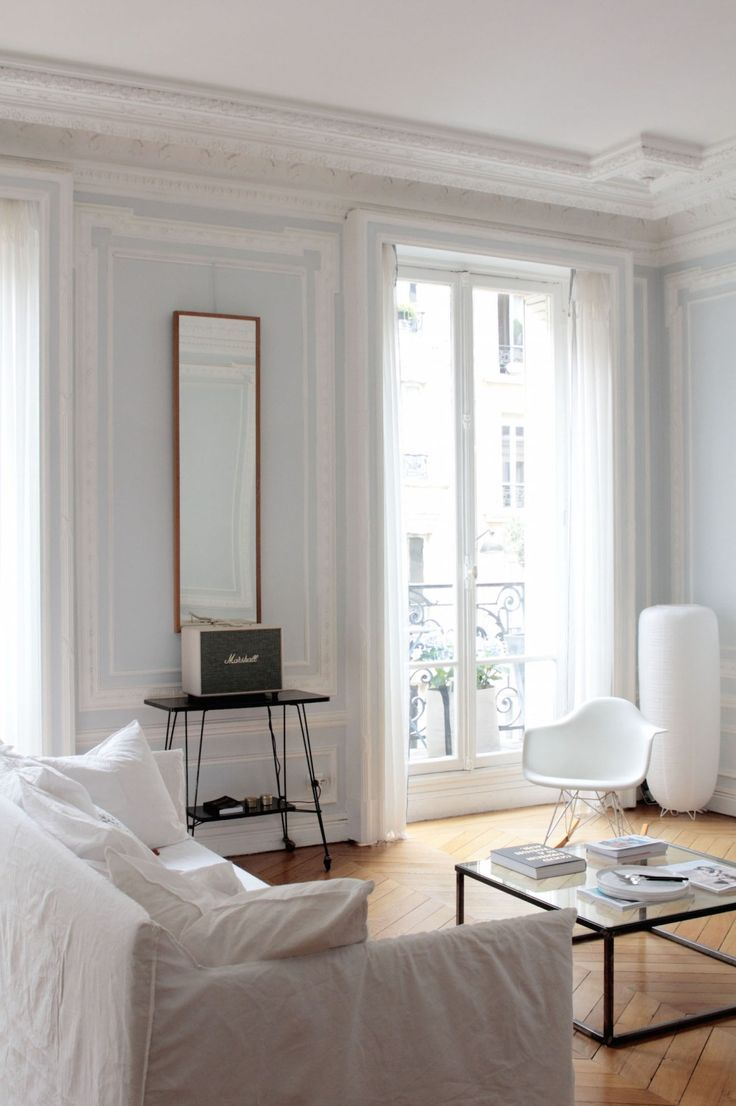 Photo of The chic and creative Parisian interior of blogger Vanessa Pouzet #archi …