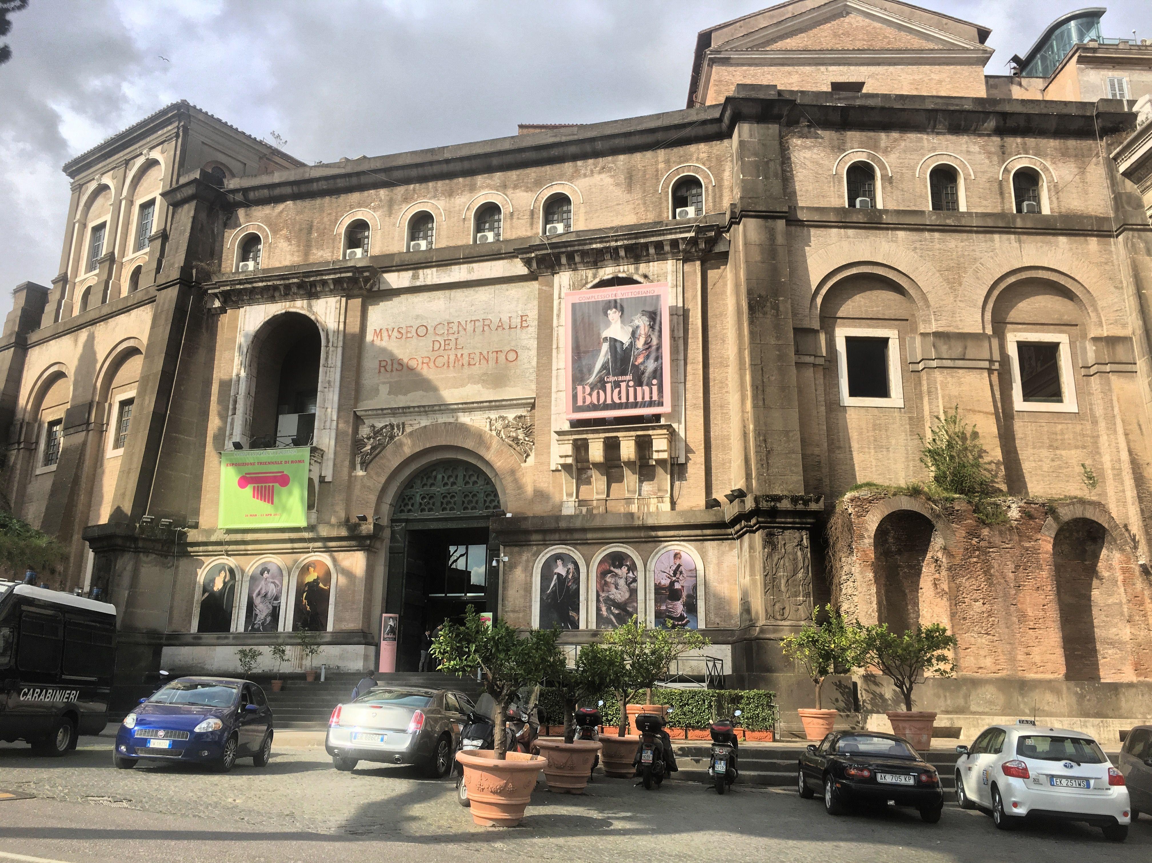 Museo Del Risorgimento.Armando Brasini S Museo Centrale Del Risorgimento Rome 1924 39