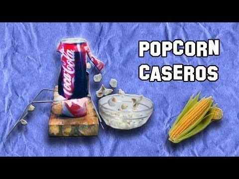 Experimentos caseros como hacer una m quina de popcorn o - Maquina de palomitas casera ...