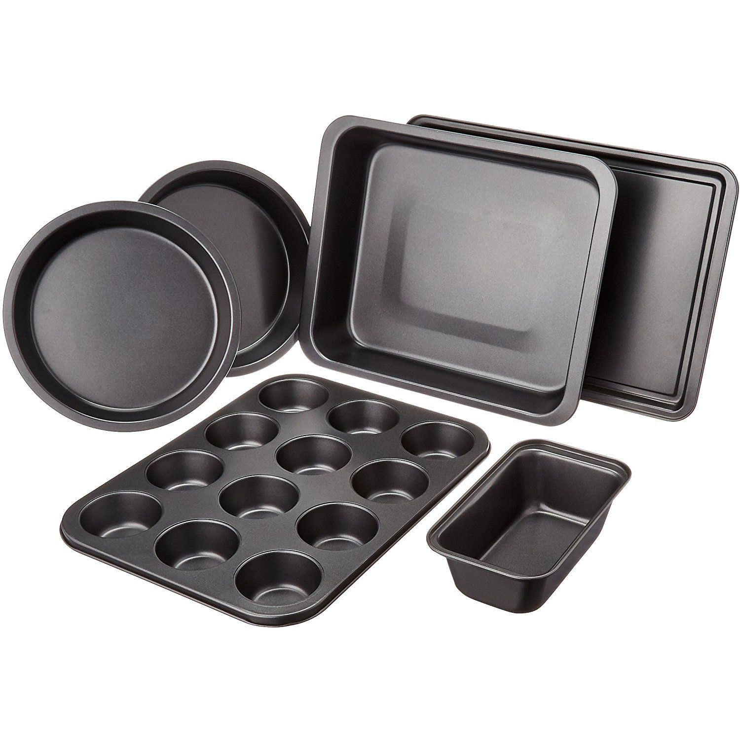 Amazonbasics 6 Piece Bakeware Set Read More Reviews Of The
