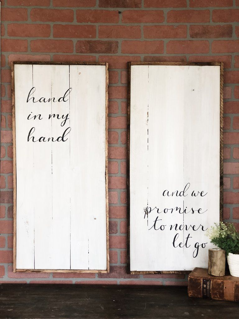 Hand In My Hand Wedding Signs Diy Antique Booth Ideas Wedding Signs