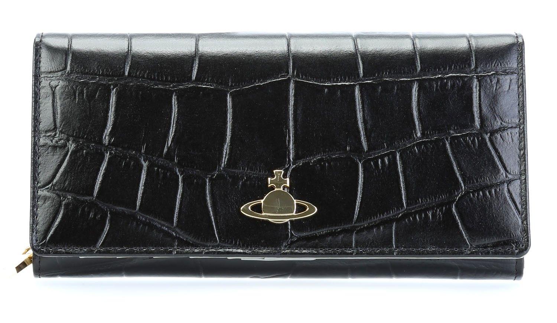 5d0676fb8e277 wardow.com -  bag  animalprint  wild  VivienneWestwood Beaufort Geldbörse  Damen Leder schwarz 19 cm