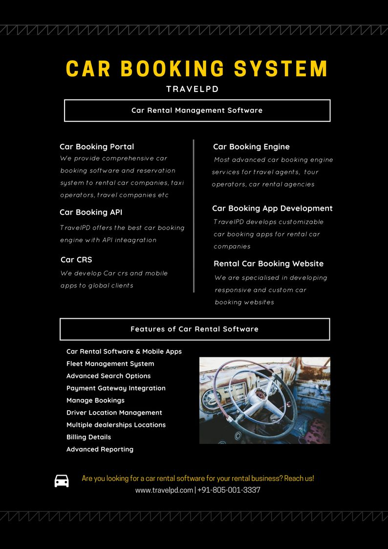 Are you looking for a car BOOKING software for your rental