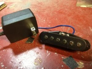 Cigar Box Build A Guitar Pickup In Under Five Minutes For Less Than 2 Guitar Pickups Cigar Box Guitar Plans Cigar Box