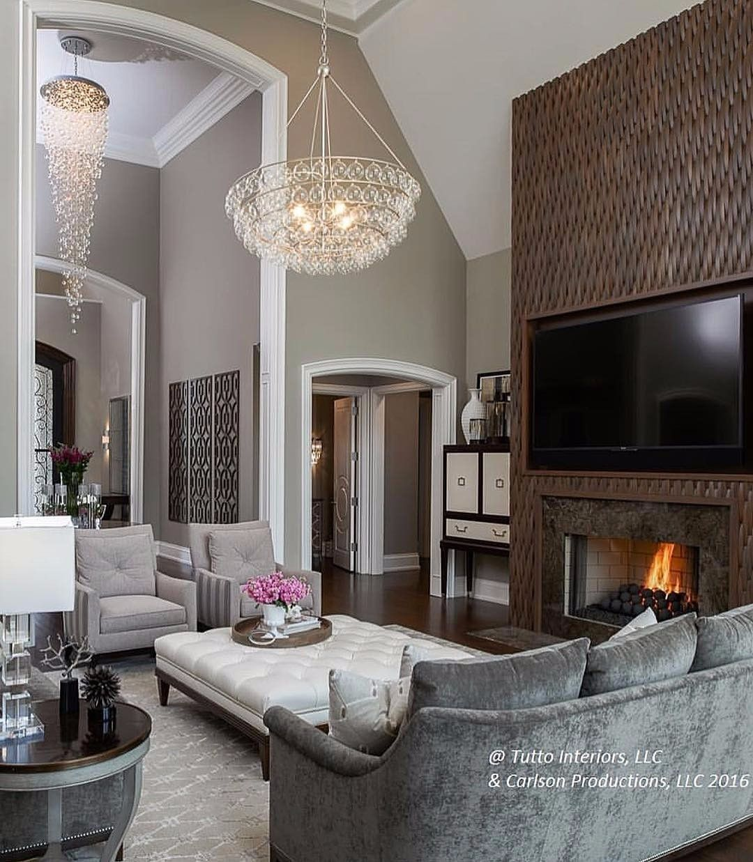 Sometimes its all about the small details that make a room feel grand! By -  Architecture and Home Decor - Bedroom ...