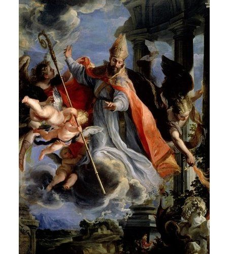 East Urban Home The Triumph Of St Augustine 1664 By Claudio