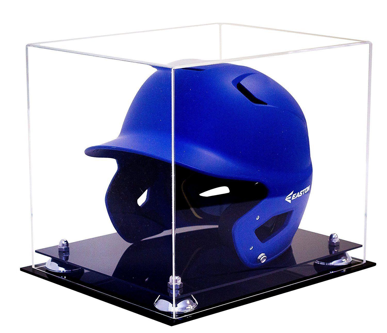 Baseball Helmet Clear Display Case For Mlb Ncaa And More A012 Baseball Helmet Display Case Helmet