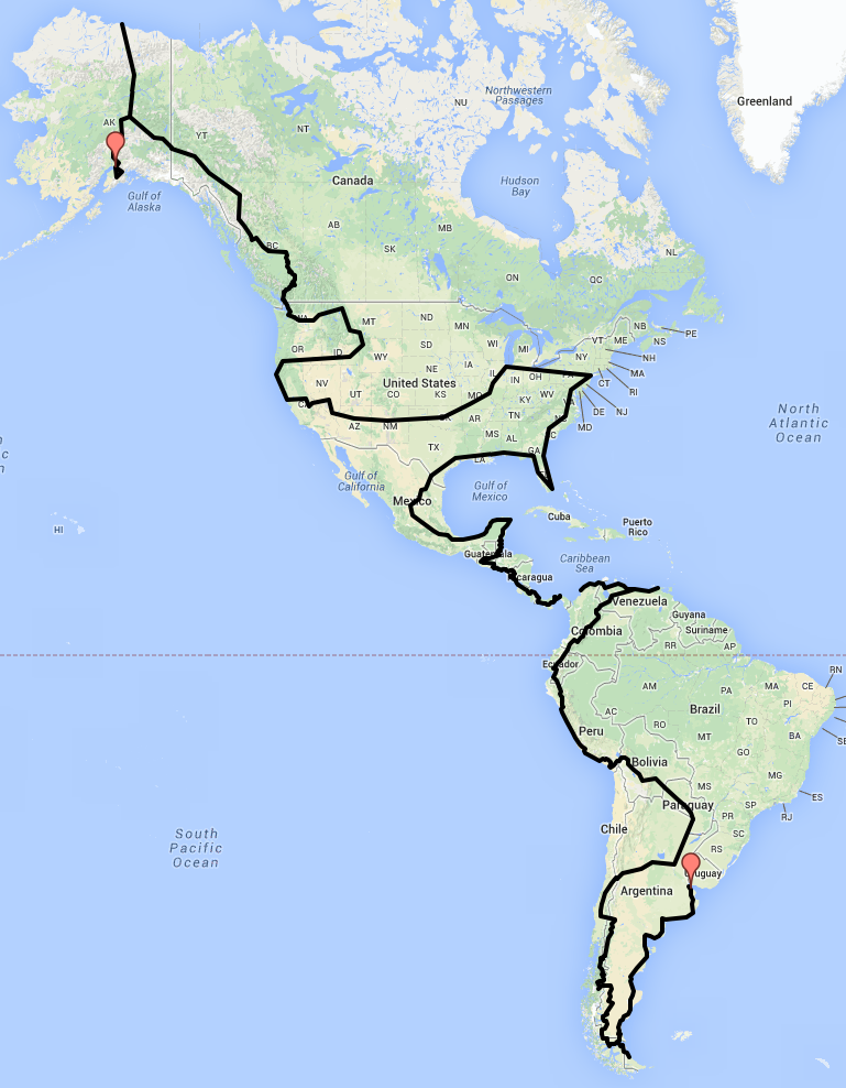 Map Of The Three Sisters Motorcycle Route In The Beautiful Hill - Interactive motorcycle map of the us