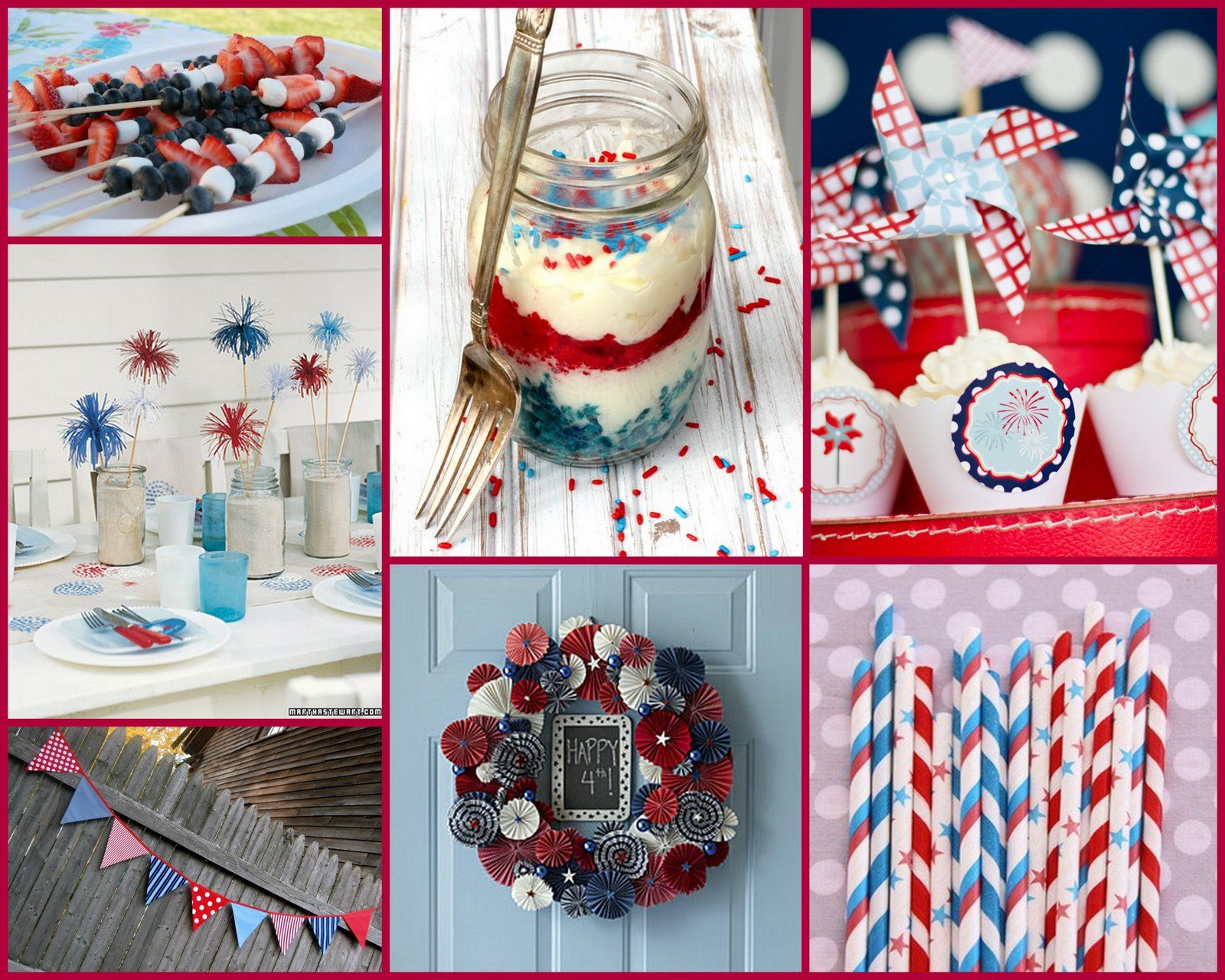 4Th Of July Birthday Party