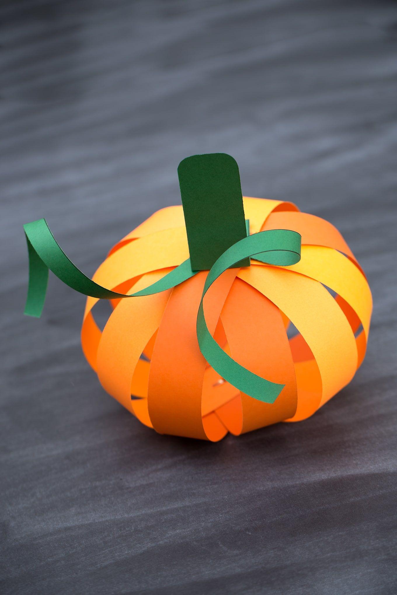 32+ Orange Craft Paper Halloween crafts for kids, Paper