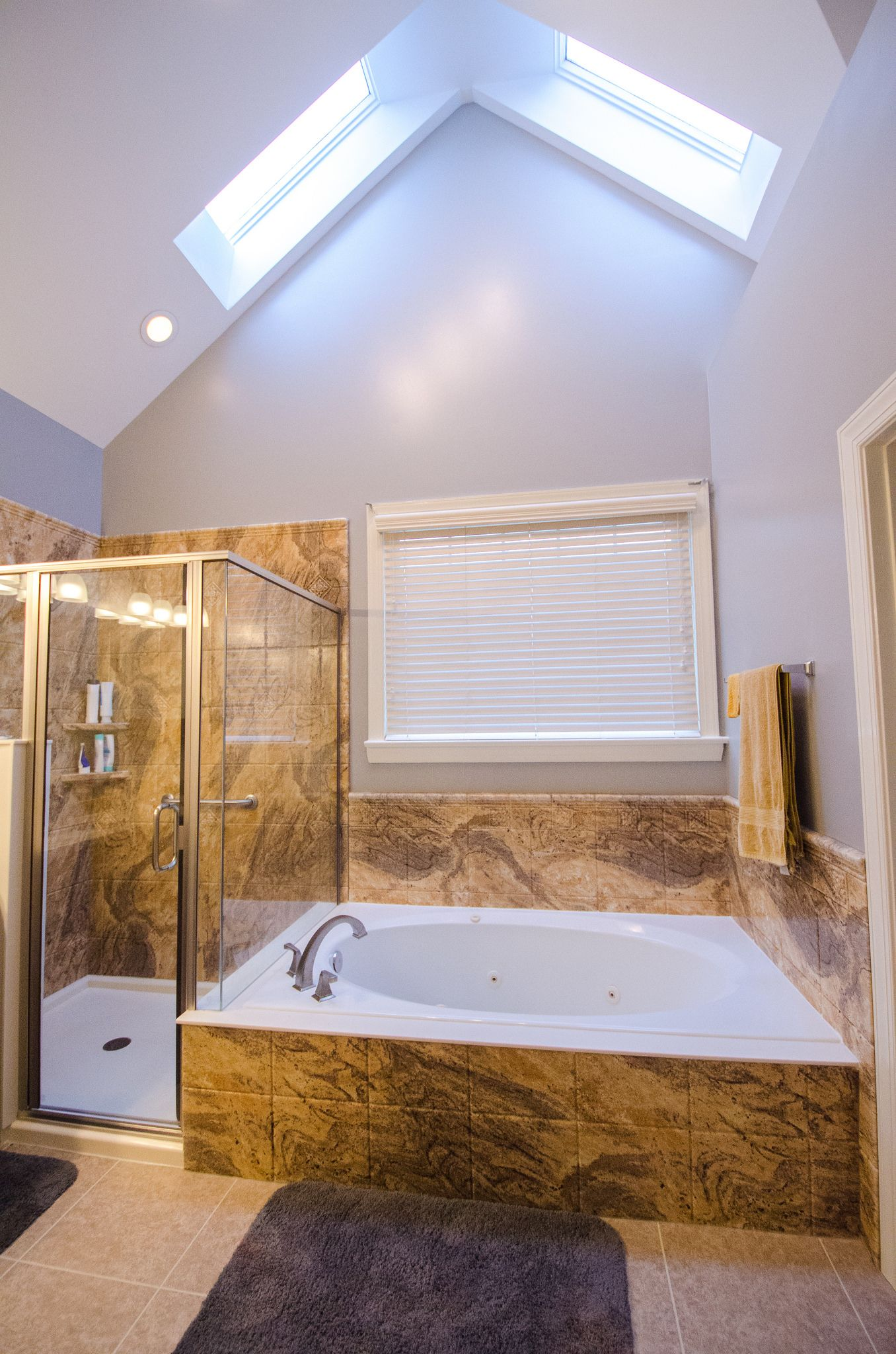 Bathroom Makeover Trends rh858 after -0196 | gardens, skylights and photos