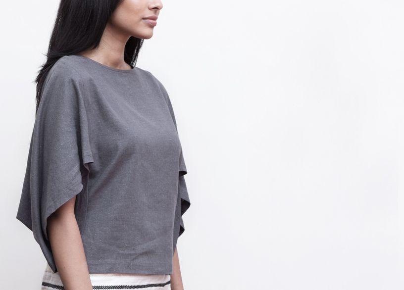 Origami inspired sleeve detail #urbanislandcolombo  shop now at www.fashionmarket.lk