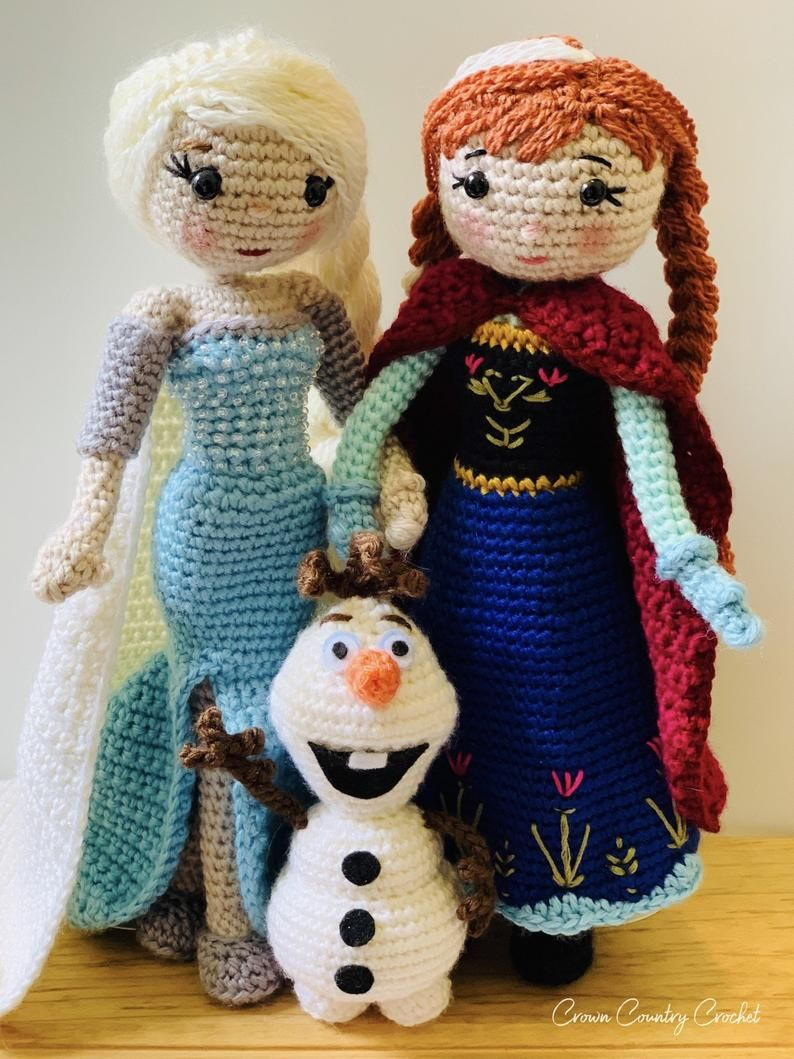 CROCHET OLAF KIT MAKES TWO CHRISTMAS GIFT BRAND NEW