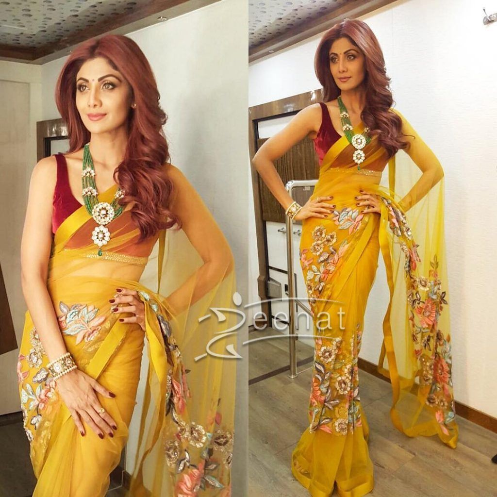 Fashion week Malhotra manish latest saree designs for woman