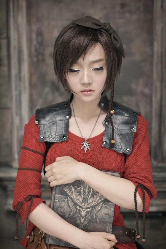 Diablo 3 Leah Cosplay