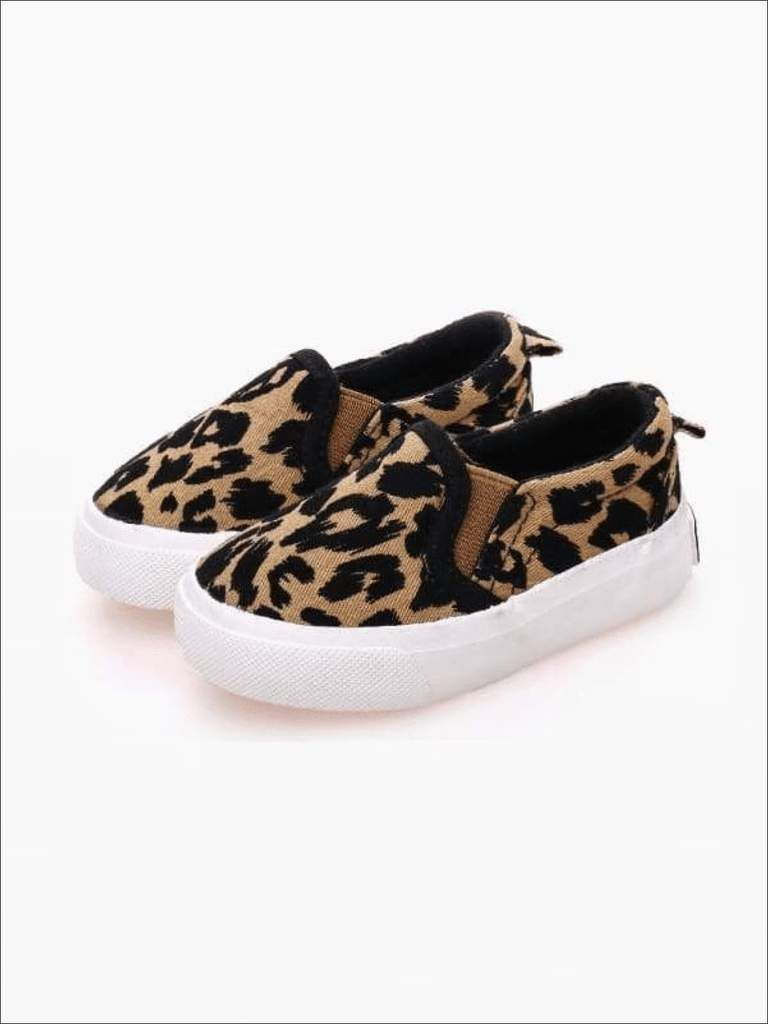 Girls Leopard Print SlipOn Shoe By Liv and Mia is part of Little girl shoes, Girls casual shoes, Girls shoes kids, Baby girl shoes, Kid shoes, Boys shoes kids - Go back to school in style  Grab up these sneakers in two amazing colors! Upper Material Canvas Outsole Material Rubber Closure Type SlipOn Please reference to the size chart Imported This item ships from our overseas fulfillment center  Please allow 1821 business days for Delivery  Once you see it you will know it's worth the wait!