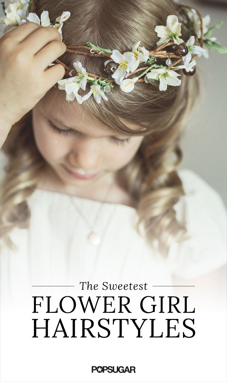 11 Gorgeous Hairstyles For Little Flower Girls | Gorgeous hairstyles ...