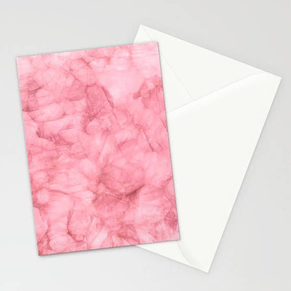 Blush Pink Stationary Set Thank You Cards Pink Note Cards
