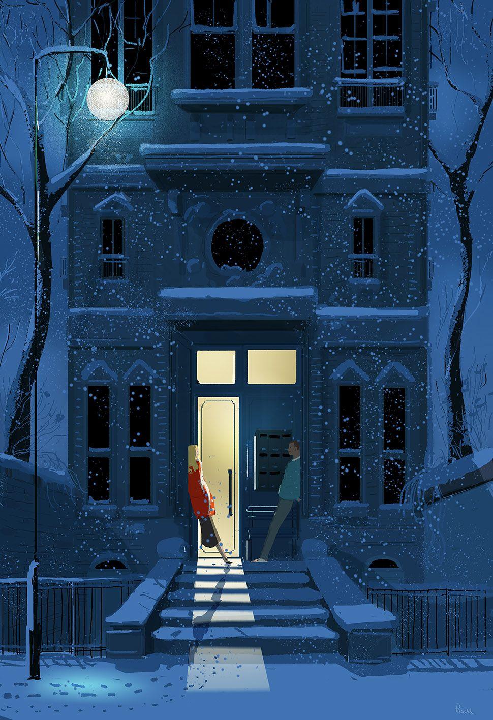 Nightcap? by Pascal Campion   les Bleus