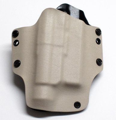 Kydex OWB/IWB Light Compatible Holster Glock 19/23/23 with TLR-1