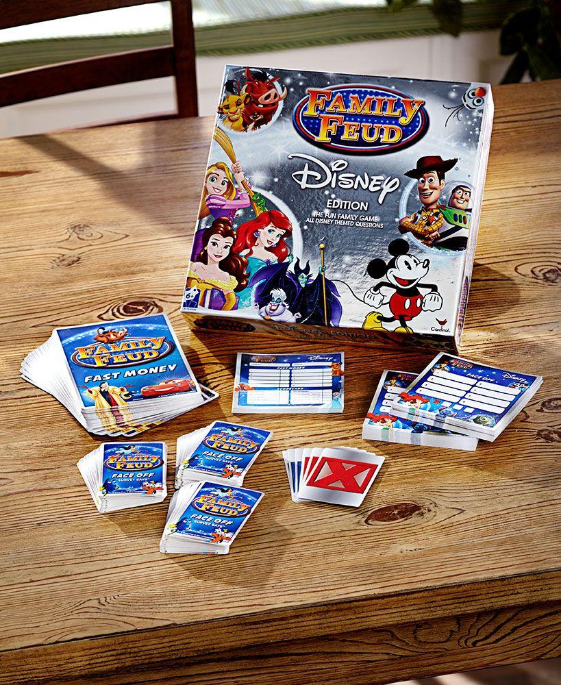 Disney Family Feud Game Family feud game, Disney family