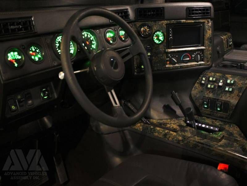 Ava Complete Humvee Interior Kit 4 Door Raw Hummer Interior Truck Interior Hummer