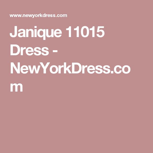 Janique 11015 Dress - NewYorkDress.com