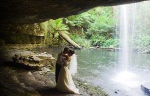 Waterfall Wedding Waterfall Wedding Outdoor Elopement Places To Get Married