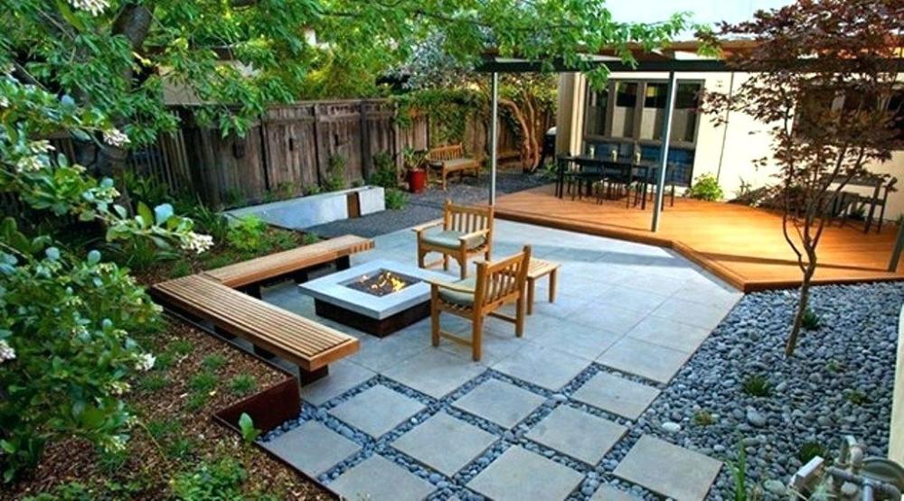 backyard landscaping ideas without grass backyard designs ...