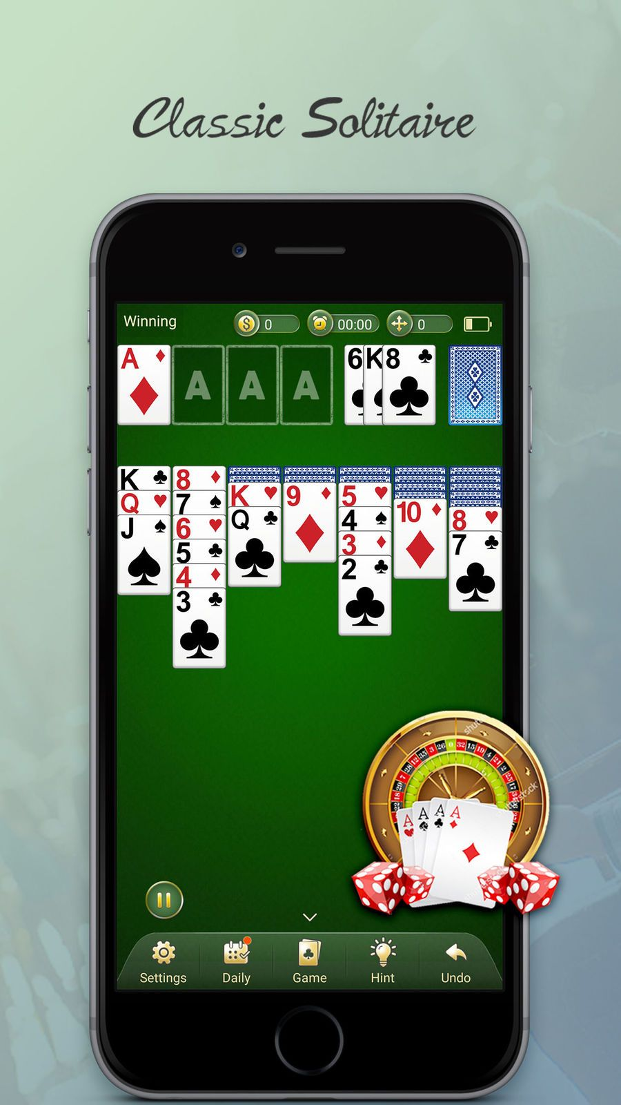 Solitaire - Free Classic Card Games App #Fotoable#App#Casino
