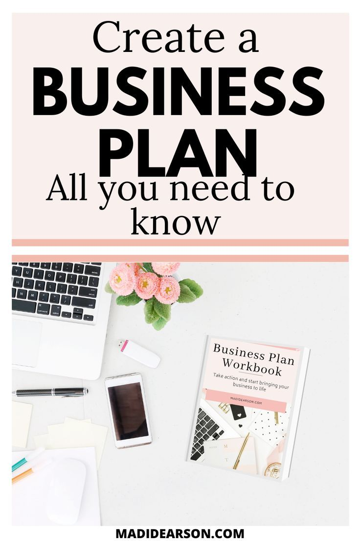 Create a business plan step by step in 2020 Business