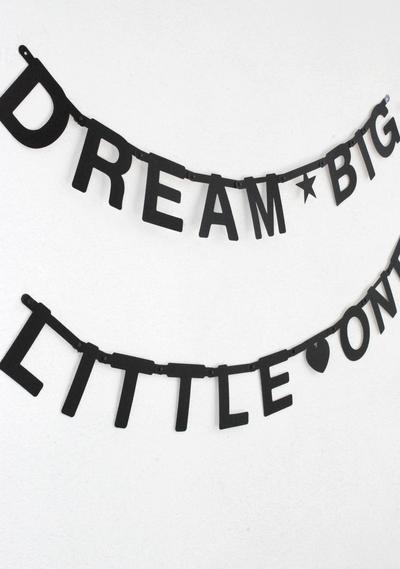 Beste OMM Design: Word banner - Babykamer letters, Babykamer neutraal en OD-61
