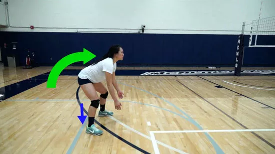 how to bump a volleyball video