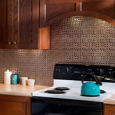 Decorative Tiles For Backsplash Fasade 18 Inx 24 Interrain Pvc Decorative Tile Backsplash In