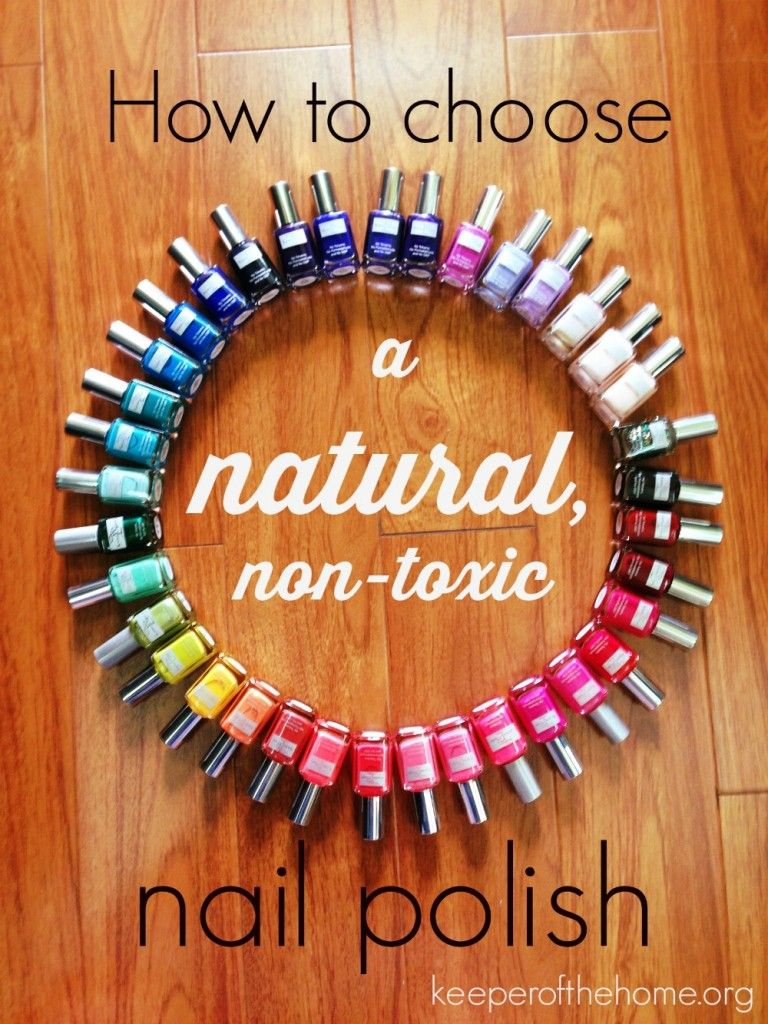 How to choose a natural, non-toxic nail polish | Finger, Natural and ...