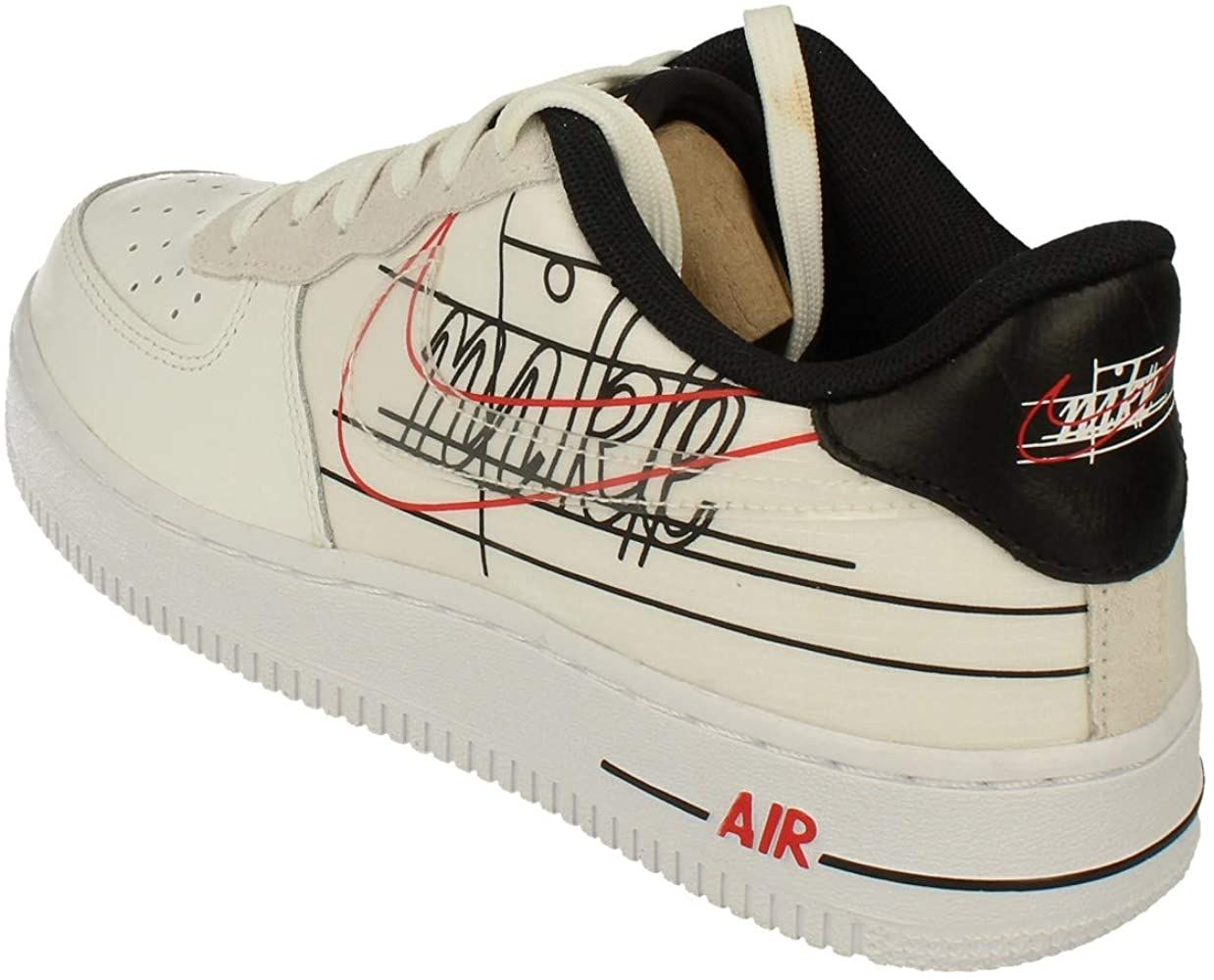 Nike Air Force 1 GS Trainers CK9707 Sneakers Chaussures (UK 5 US ...