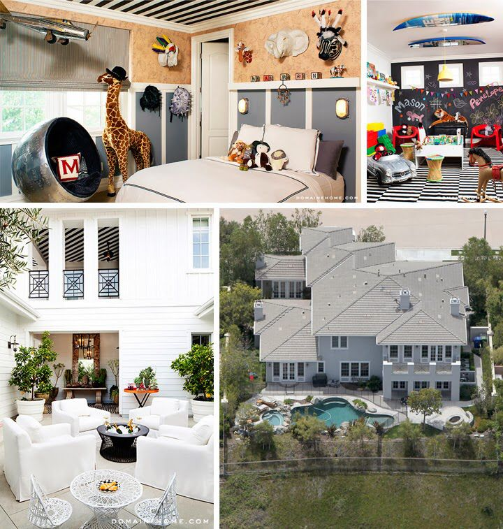 Kourtney Kardashian's Calabasas home