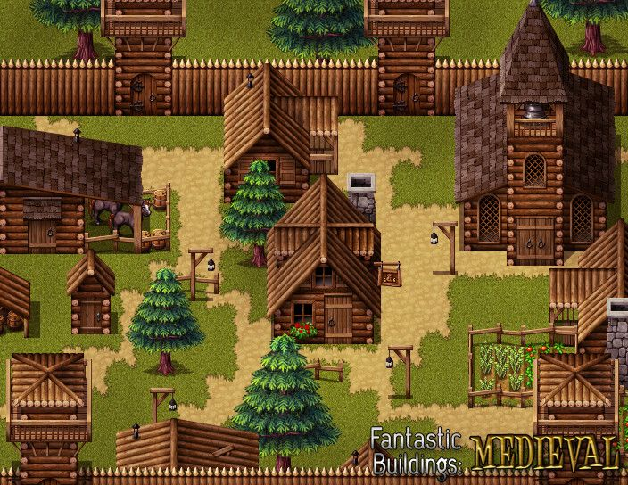 RPG Maker VX Ace - Fantastic Buildings: Medieval | Games