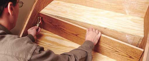 How To Install Hardwood Stairs At The Home Depot