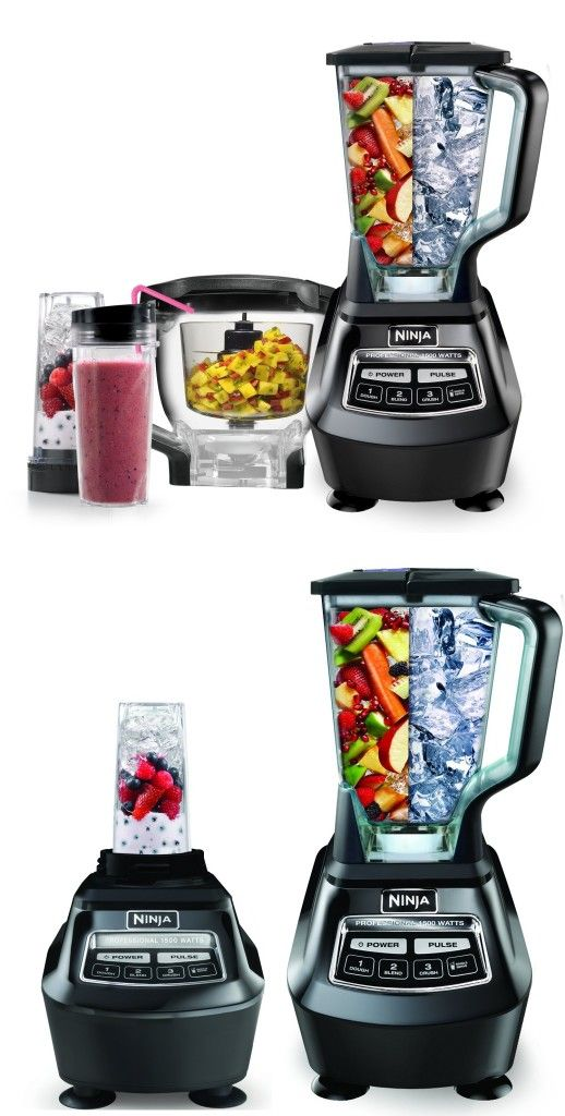 Ninja Mega Kitchen System 1500 A Powerful Blender For Large Quantity Smoothies And Juices With Images Blender Smoothies Kitchen