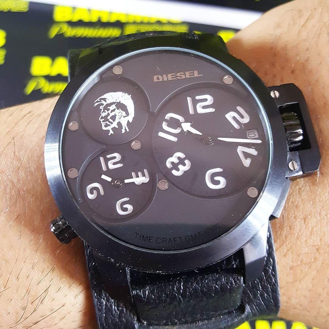 617e8934177 Relógio Diesel Vidro Safira ( não risca ). Resistente há água Replica  Premium AAA Duplo