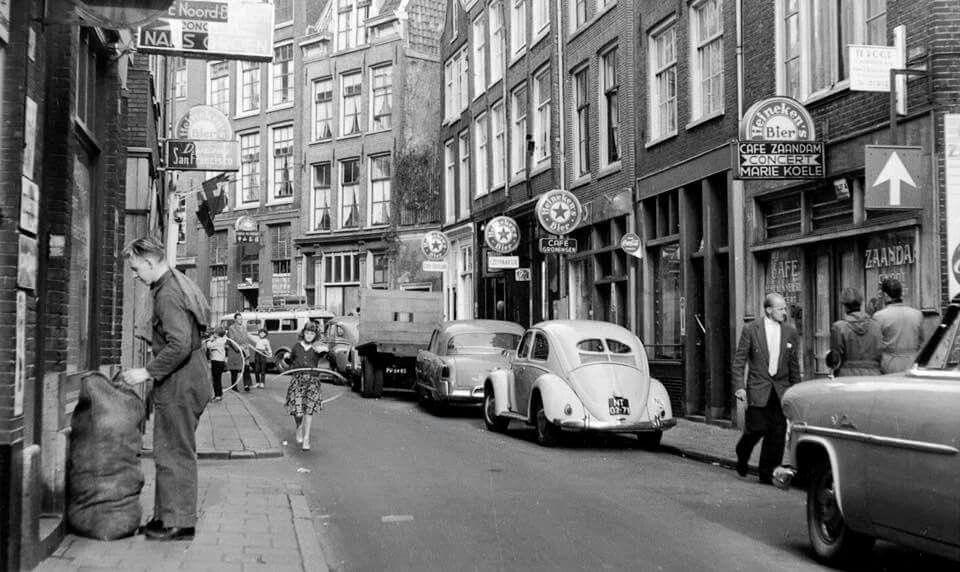 Zeedijk 1958 Amsterdam Straatfotografie