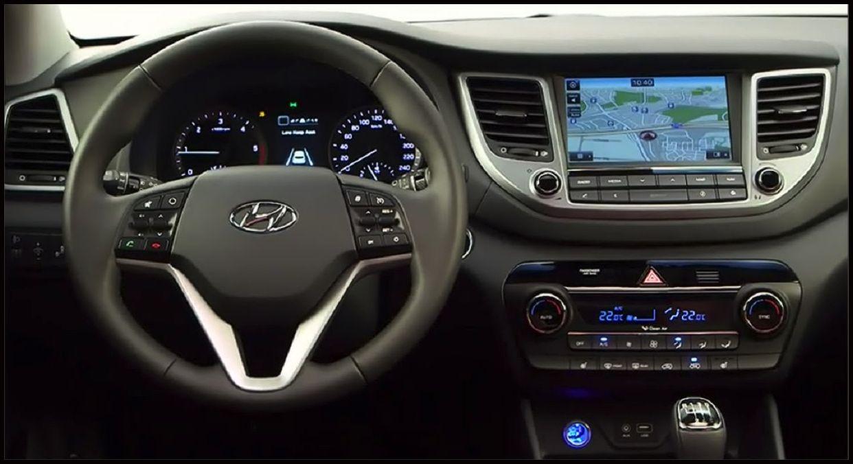 The 2016 Tucson Interior Dazzles 2016 Hyundai Tucson New