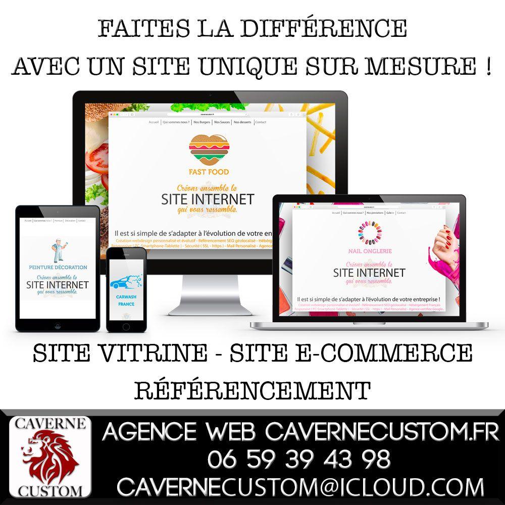 Agence Web Pour Professionnels Et Associations Cration De Site Internet Sur Mesure La Carte Visiter