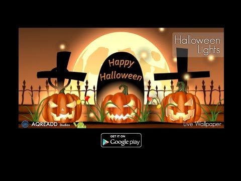 weve improved the colours of halloween lights live wallpaper take a look at new video and download it on google play