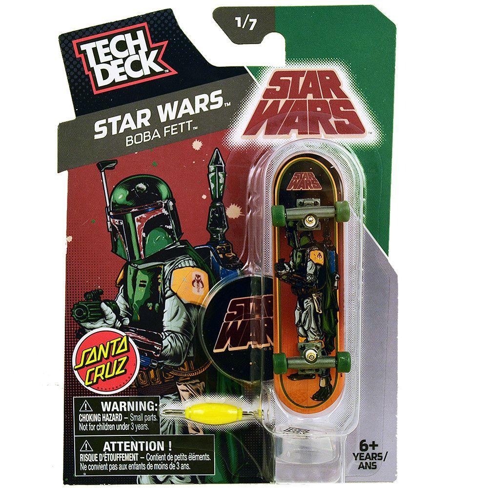 Tech Deck Star Wars Boba Fett Santa Cruz Finger Board