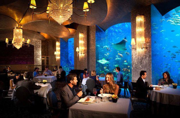 Mouth Watering Food Underwater Hotel